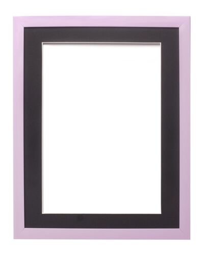 RAINBOW RANGE PICTURE FRAME PHOTO FRAME  POSTER FRAME  LILAC WITH BESPOKE MOUNT