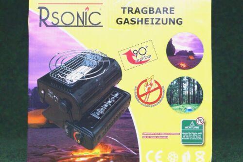 Campingheizung 2in1 Heizung mit Kochgitter  Not Heizung Gasheizung