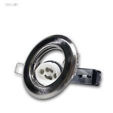 GU10 Faretto da incasso cromo-opaco Lampada GU 10 230V, Copertura Spot