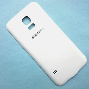 timeless design 014d2 5e0ea Details about Genuine Samsung Galaxy S5 Mini G800 rear battery cover back  cover+seal White GrA