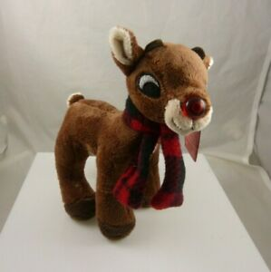 Rudolph-the-red-nosed-reindeer-Christmas-Musical-light-up-red-nose-stuffed-toy