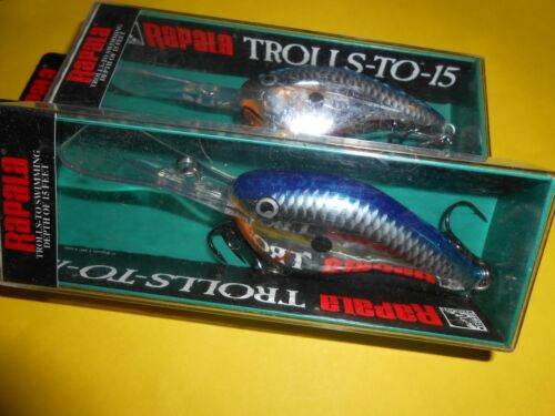 "TROLLS-TO-15 /""RAPALA/"" DA 7cm 12gr COLORE SILVER BLUE TTS-15.FC.RAP159"