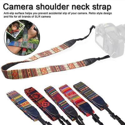 Vintage Kamera Schultergurt Riemen Gürtel für Nikon Panasonic SLR B6M8
