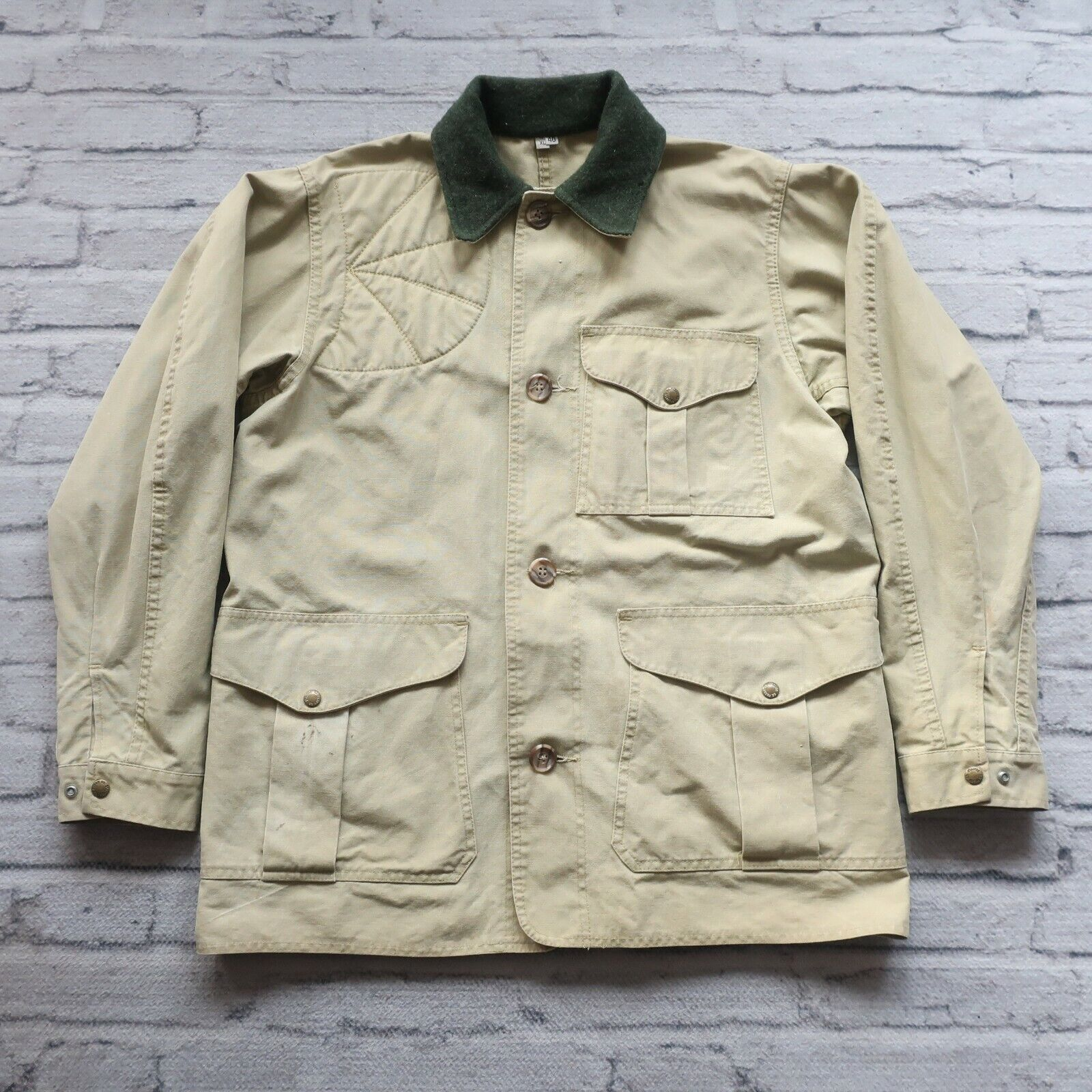 Vintage Filson Style 72XL Hunting Jacket Größe 40 Made in USA Shooting Tin Cloth