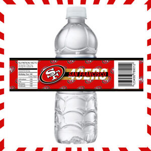 San Francisco 49ers football necklace party favors 10  loot bag birthday