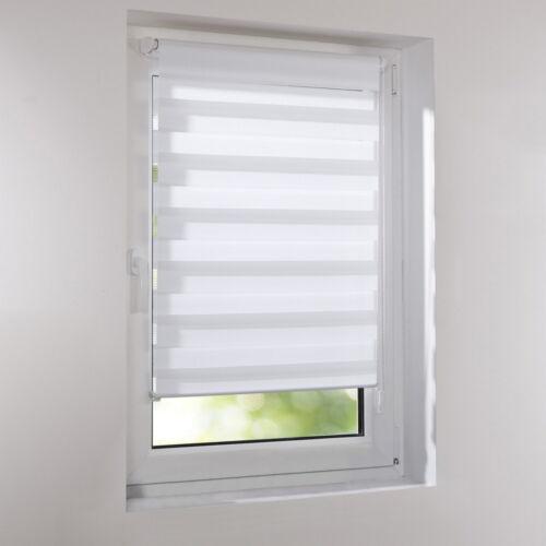 Duo-Rollos Doppelrollos Standard Klemmfix Rollo ohne Bohren Fensterrollo Tür