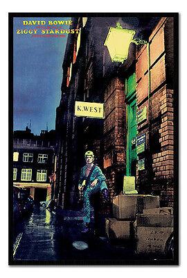 David Bowie Ziggy Stardust Spiders Album Cover Art Wall Sticker 6 size XL-1.2m