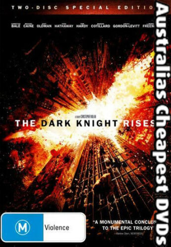 1 of 1 - The Dark Knight Rises (2-Disc Set) DVD NEW, FREE POSTAGE WITHIN AUSTRALIA REG 4