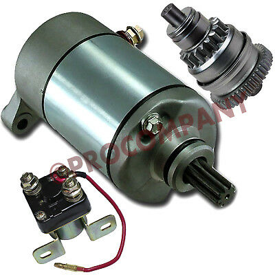 STARTER /& DRIVE FITS POLARIS XPedition 425 425cc Engine 2000-2002 RELAY SOLENOID