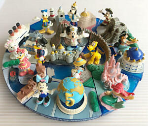 Tokyo Disney Sea 5th Anniversary MICKEY MINNIE Diorama Miniature Figurine Toy
