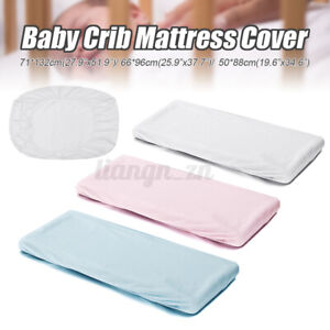 S/M/L Baby Waterproof Fitted Sheet Children Mattress Cover Protector For