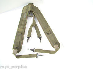 fashion style 2019 clearance sale enjoy big discount Details about USGI ARMY SUSPENDERS INDIVIDUAL EQUIPMENT BELT LC2