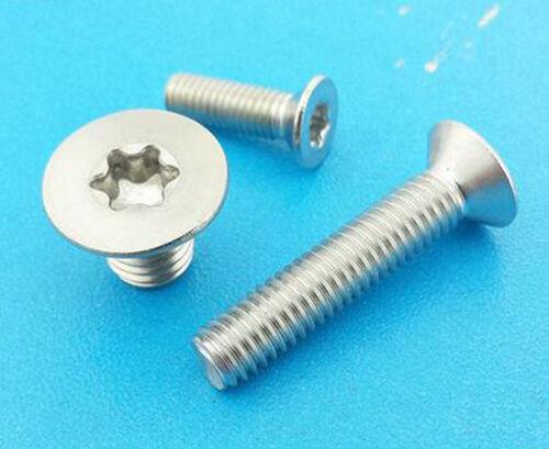 Torx Countersunk Head Screws Torx Flat screw A2 M2.5 Thread Dia. 2.5mm