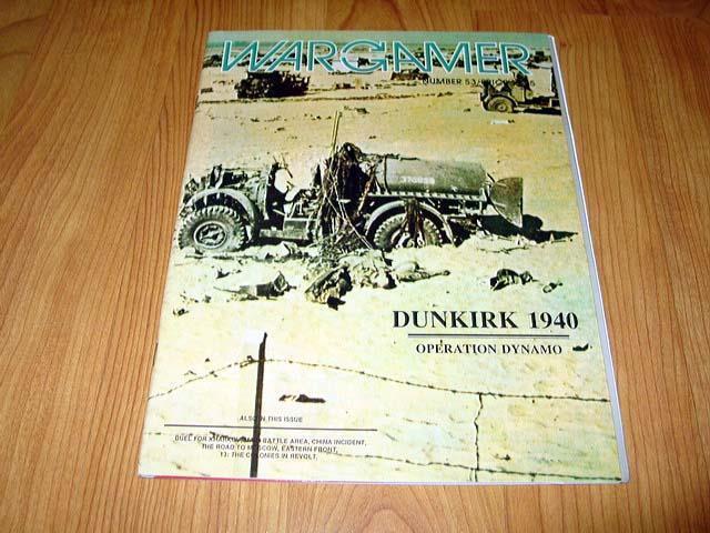 WARGAMER  53 - DUNKIRK 1940 - Operation Dynamo game (UNPUNCHED)