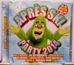 Apres-Ski-Party-2014-2-CD-Set-40-Hits-mit-Stimmungsgarantie-fuer-die-Fete