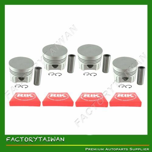 100/% Taiwan Made X 4 PCS Ring Kit Set STD 85mm for Kubota V1902 Piston
