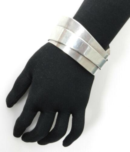 JN lapis stone wavy modernist cuff /& 925 collar