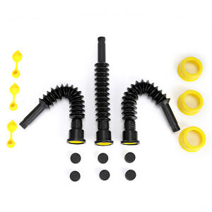 3pk-Gas-Spout-Replacement-Replace-Old-Gas-Can-Fill-Kit-Fuel-Diesel-Water-black