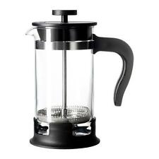 French Coffee Tea Press Pot Maker Plunger Cafetiere 1 US Cup 13.5 oz