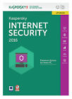 Kaspersky Lab InternetSecurity2016 (Box) (1) - Upgradeversion für Windows KL1867GBAFR