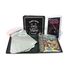 BCW COMIC BOOK COMICS COLLECTOR STARTER KIT ALBUM BAGS BOARDS TOP LOADER SEALED