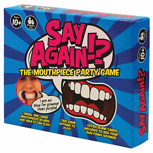 Say-Again-The-Mouthpiece-Party-Game-Family-amp-Friends-Funny-Gift-for-Him-Her