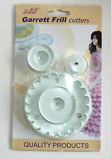 Garrett Frill Cutters 1 Frill Cutter with 3 Inserts Sugarcraft Cakes Decorating