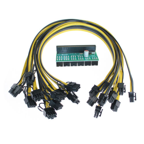 10pcs Cable for HP 1200w//750w Power Module Mining Ethereum Sale Breakout Board