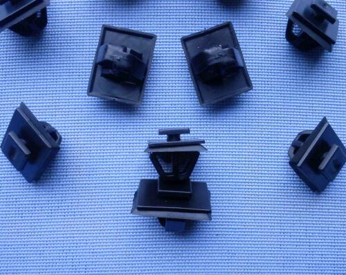 20x moulures Crochets Clips Moulure colliers pour HYUNDAI KIA Noir 230