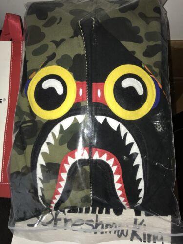 Black Camo Sz Hoodie Flyboy Bape Xxl Brantley Shark Hebru qtnwYETA