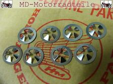 Honda CB 750 Four K0 K1 K2 Emblem Clip Set für Seitendeckel Nut, speed Set