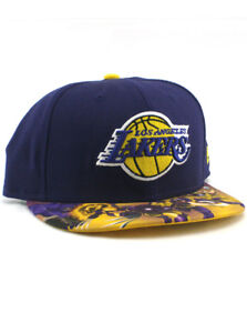 3a82dc38d24 New Era NBA Los Angeles LA Lakers 59fifty Custom Fitted Hat Size 7 3 ...