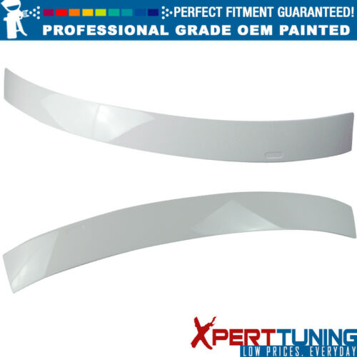 OEM Painted Color Fits 97-03 BMW E39 5-Series M5 4Dr Painted Roof Spoiler