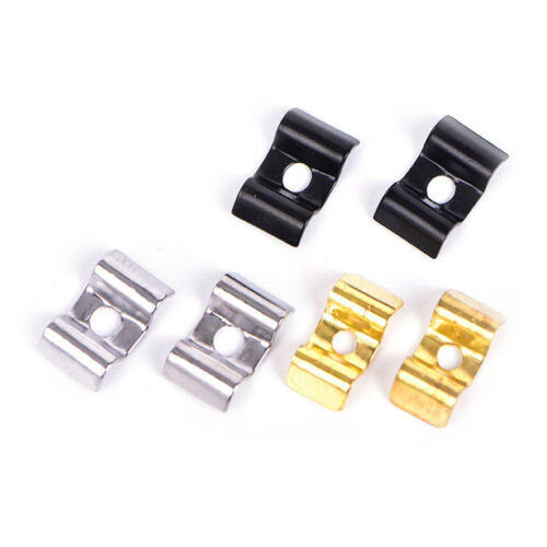 1Set String Tree Guide Retainer for Electric Guitar Bass Replacement Part-Bla SA