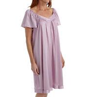 Vanity Fair purple iris Coloratura short flutter sleeve gown 30109  size  L