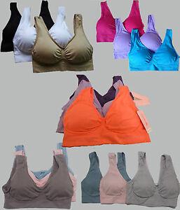 Conjunto-de-3-Sujetadores-De-Doble-Capa-De-Tela-Super-Confort-con-almohadillas-desmontables-Todas