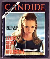 ► CANDIDE 324/1967 - JAYNE MANSFIELD - BIGEARD - ZIZI JEANMAIRE - DAVID BAILEY