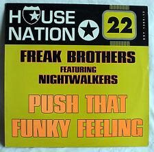 "12"" Vinyl Maxi-Single FREAK BROTHERS - Push That Funky Feeling"