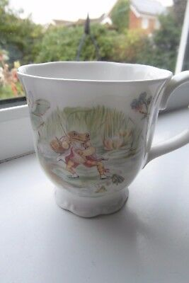 Royal Albert Jeremy Fisher Mug Beatrix Potter 1986