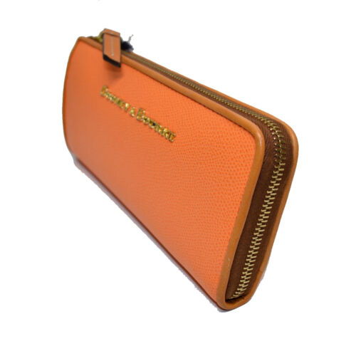 a278d7e53e2d Dooney Claremont Leather Wallet Zip Nwt Emb 799344416348 Yu155 Clutch amp   Coral Bourke RBwrqRa