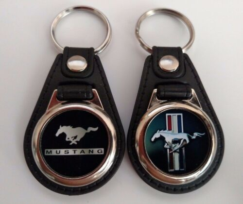 FORD MUSTANG KEYCHAIN MIX PACK 2 PIECES