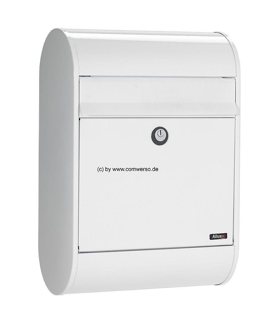 Briefkasten Allux 5000 weiß mit Euroschloß