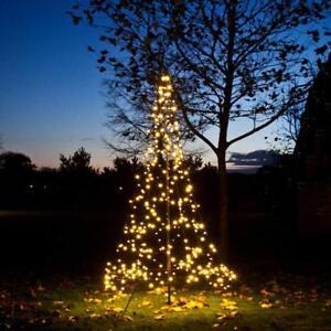Fairybell k nstlicher weihnachtsbaum 300cm mit 360 led warmwei au en christbaum ebay - Fairybell led weihnachtsbaum ...