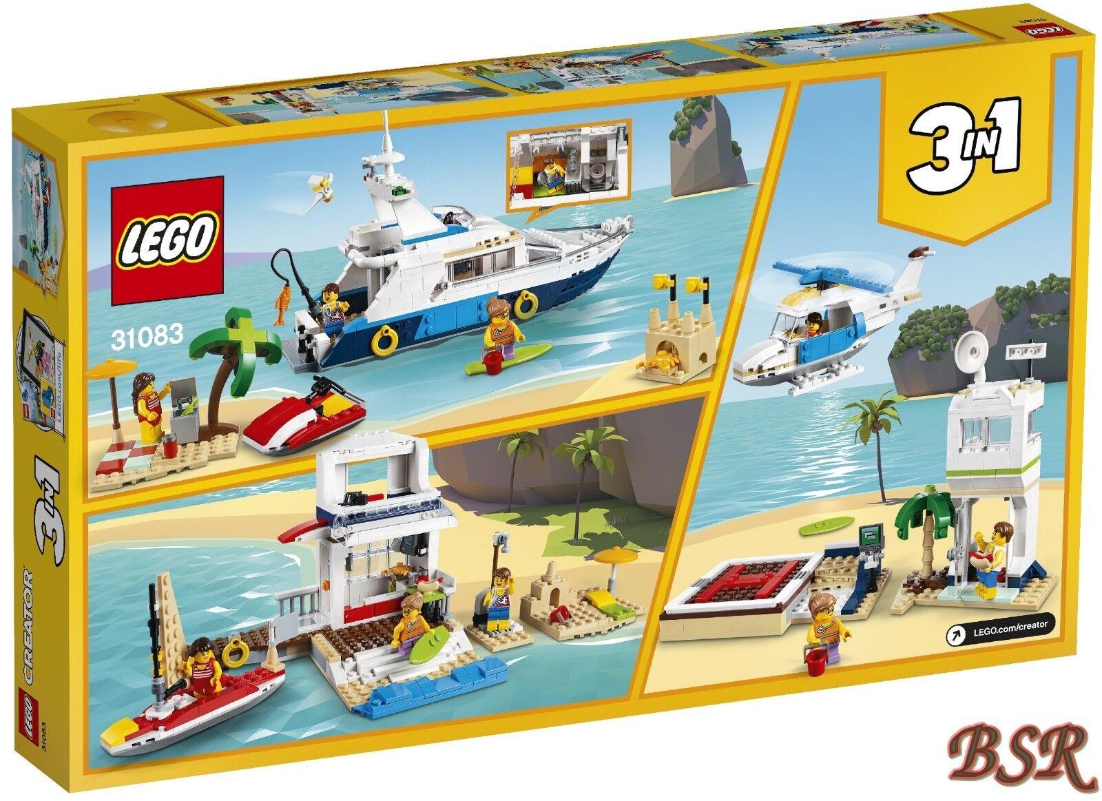 LEGO® Creator  31083 31083 31083  Abenteuer auf der Yacht & 0.- Versand & NEU & OVP 900f80