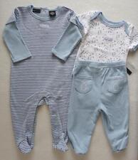 Calvin Klein Baby Boy 3 6 Months Sleeper Bodysuit Outfit Pants Blue NWT