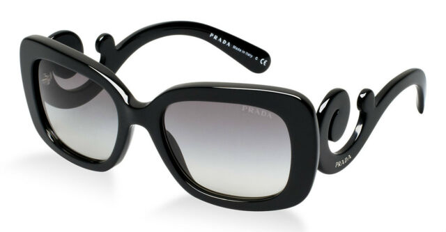 0dde2759deb HOT New PRADA Square Baroque Sunglasses SPR 27O 1AB 3M1 PR 27OS 270 SKU  347376
