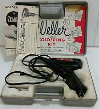 Vintage Weller Model 8200 Pk Soldering Gun With Case Amp Extras Usa Made 100140 W