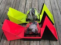 Nike Vapor 360 V360 Baseball Glove Reg 12.75 Atomic Red Volt Rh / Lh ( Bf1665 )