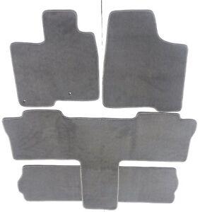Toyota Sienna Gray Carpet Floor Mat Set Fit 2004 10 7 Passenger