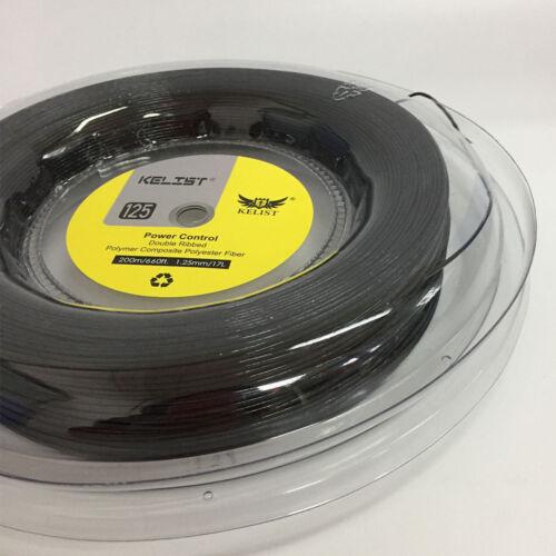 Big Banger Rough Power  KELIST Tennis String Polyester  660ft Black Color 17g